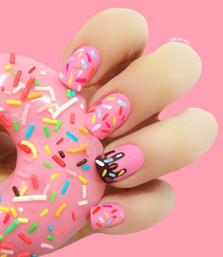 Donut Nails1