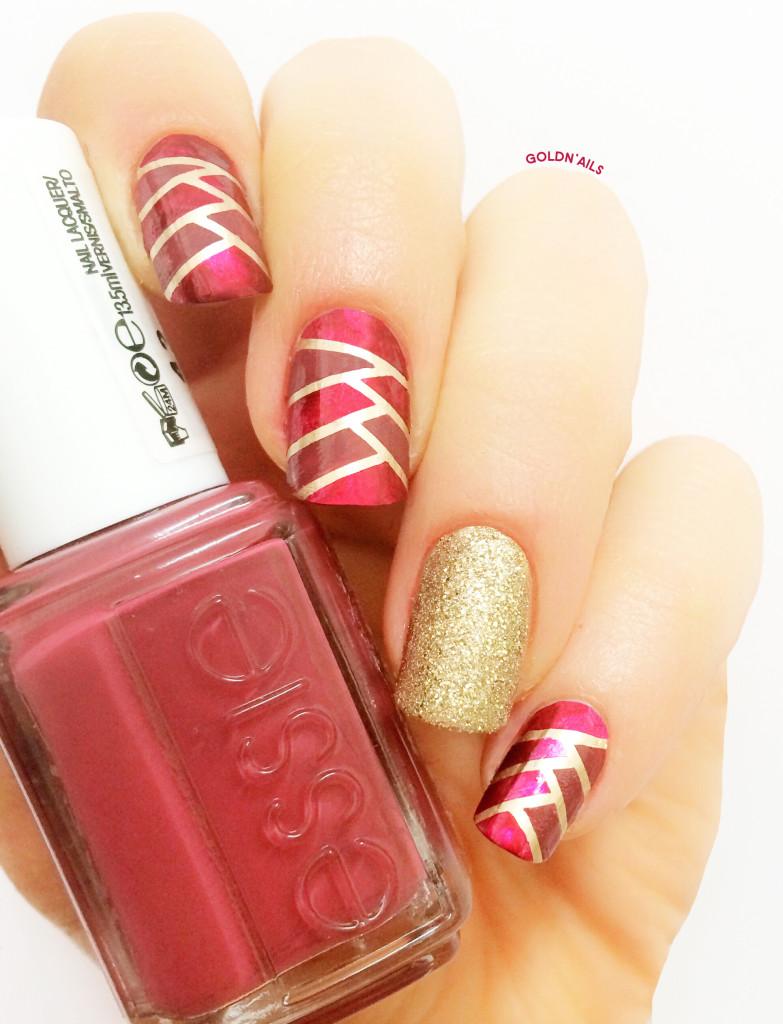 Braided Marsala Nails_1
