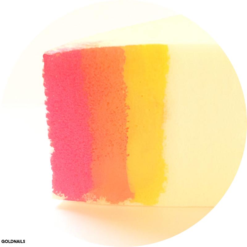 ספוגית בצבעים של שקיעה - איך עושים ציפורניים בטכניקת דגרדה / גרדיאנט