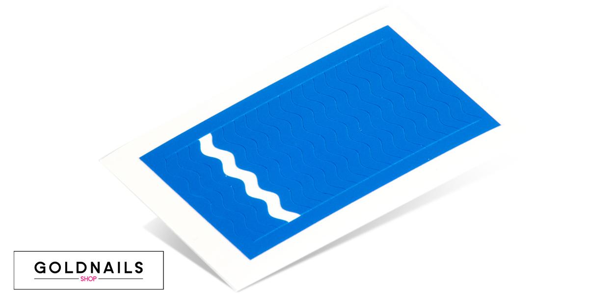 תמונה של מדבקות לציפורניים בצורת גלים