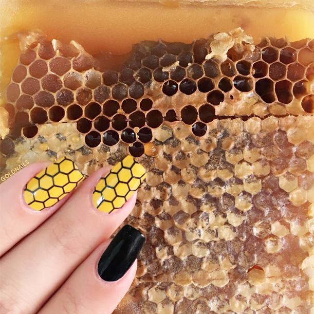 ציפורניים לראש השנה עם חלת דבש מתוקה