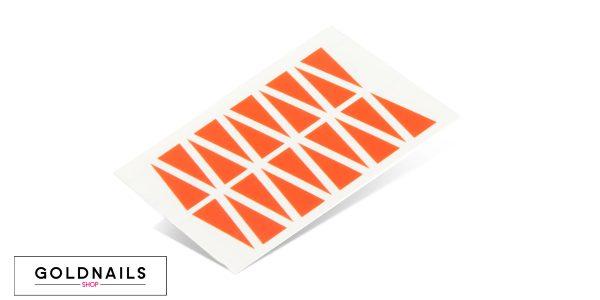 תמונה של מדבקות הדרכה לציפורניים בצורת משולשים קטנים