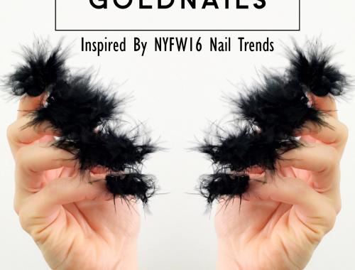 ציפורניים פרוותיות בהשראת שבוע האופנה בניו יורק 2016