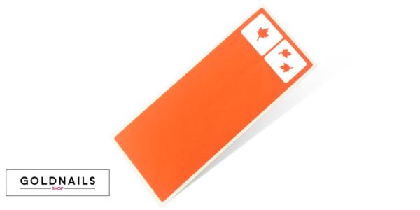 12 מדבקות שבלונה לציפורניים בעיצוב עלי שלכת במהדורה מוגבלת לסתיו