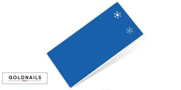 12 מדבקות שבלונה בעיצוב פתיתי שלג