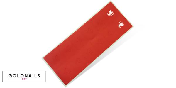 12 מדבקות שבלונה לציפורניים בעיצוב קופידון במהדורה מוגבלת לוולנטיין דיי
