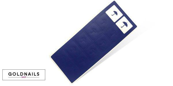 12 מדבקות שבלונה בצורת מטריה במהדורה מוגבלת לחורף
