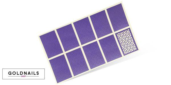 10 מדבקות שבלונה בהדפס ספינרים