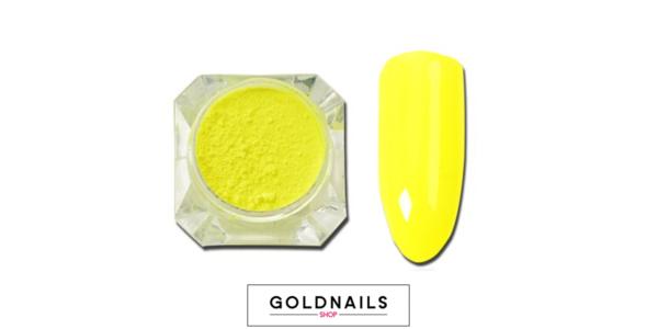 אבקת ניאון לציפורניים של גולדניילס ראשי